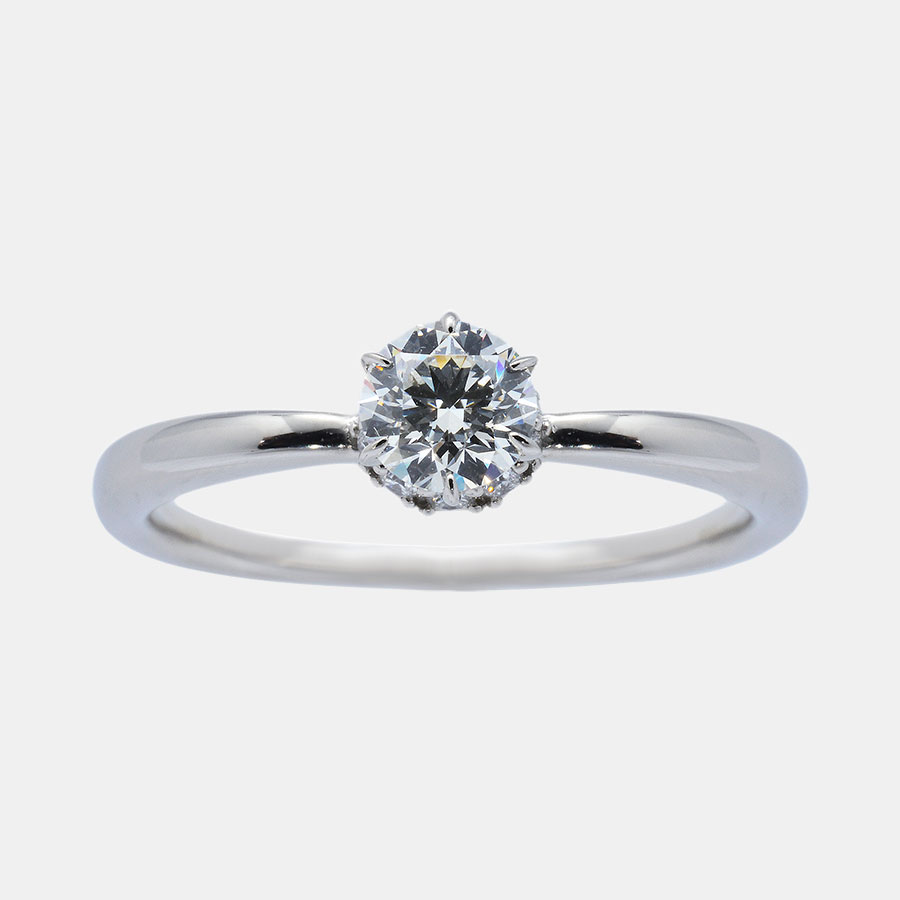 ritual ring fairy engagement solitaire diamond catbird dia rings
